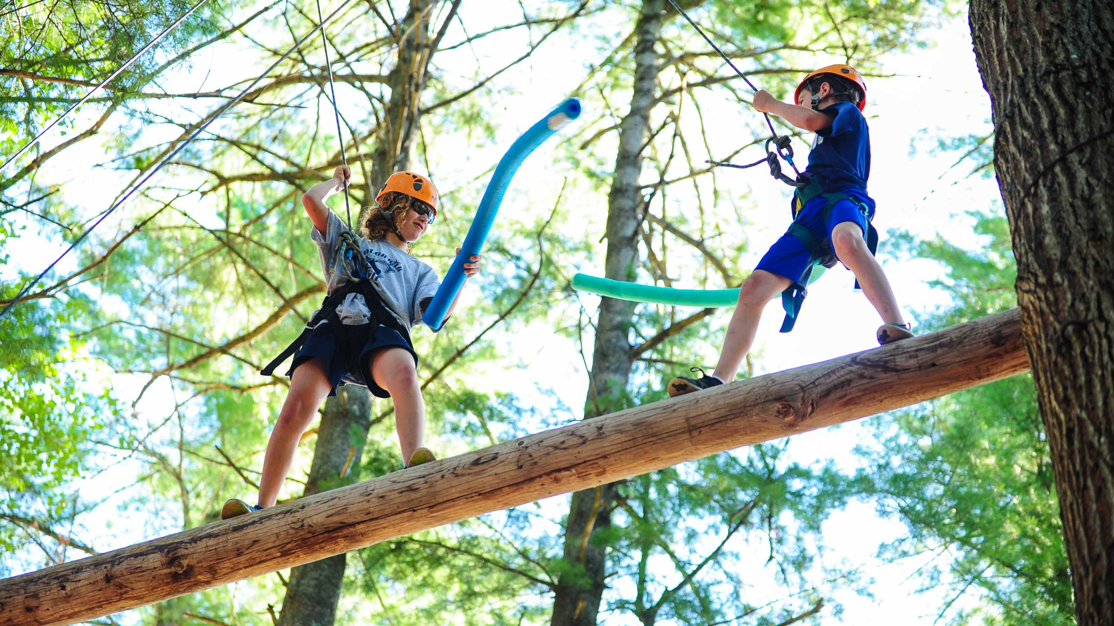 Ropes Course Camp Caribou